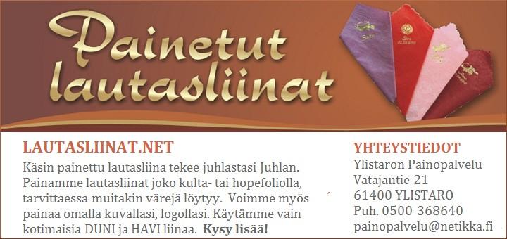 Seinäjoki, Ylistaro: Lautasliinat.net
